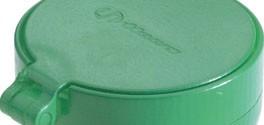 Haws SP21FC Plastic Eye/Face Wash Sprayhead Green