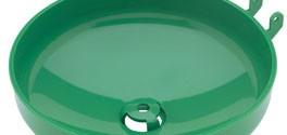Haws SP93 Plastic Eyewash Receptor Green